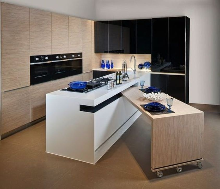 Trendy Tiny Kitchen Design Ideas That Looks Elegant 02