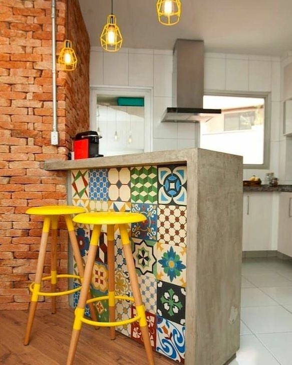 Trendy Tiny Kitchen Design Ideas That Looks Elegant 12