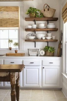 Classy Farmhouse Kitchen Cabinets Design Ideas To Copy 01