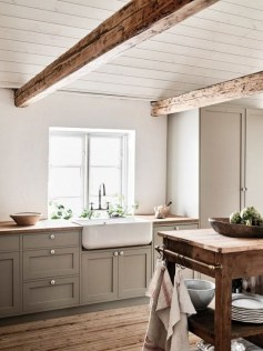 Classy Farmhouse Kitchen Cabinets Design Ideas To Copy 22