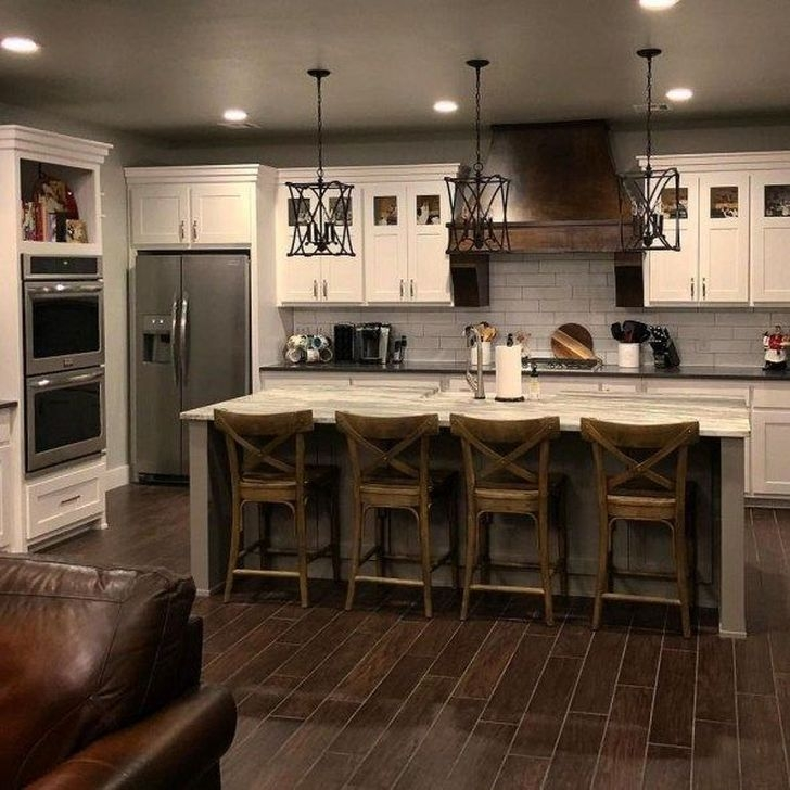 Classy Farmhouse Kitchen Cabinets Design Ideas To Copy 45
