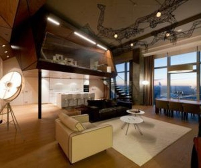 Rustic Penthouse Apartment Design Ideas For You 15