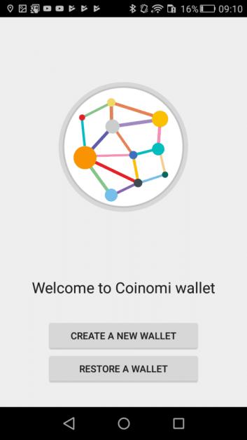 Restore a wallet