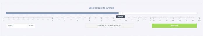 Buying on Hashflare