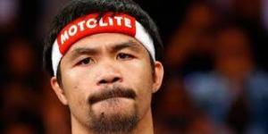 lendário boxeador Manny Pacquiao