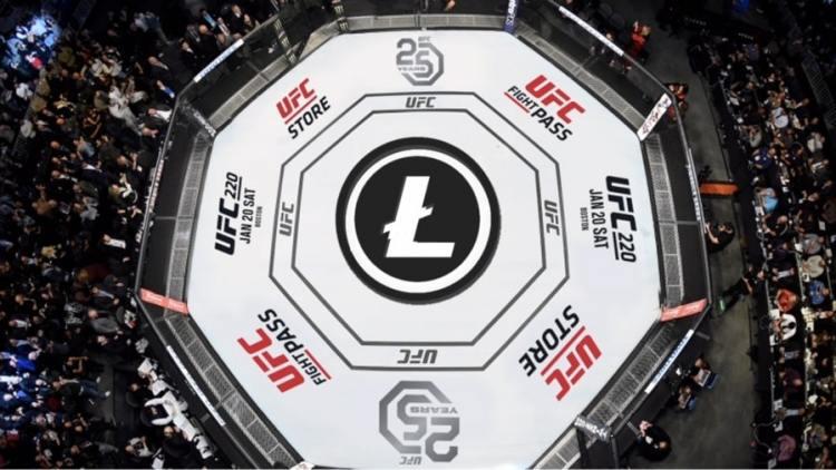 UFC está sob os cuidados da Litecoin agora