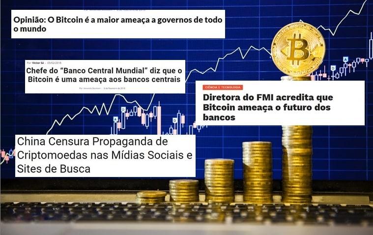 A grande mídia não sabe lidar com o Bitcoin