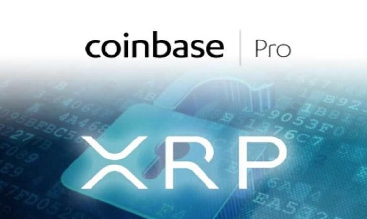 XRP finalmente listado no Coinbase Pro.