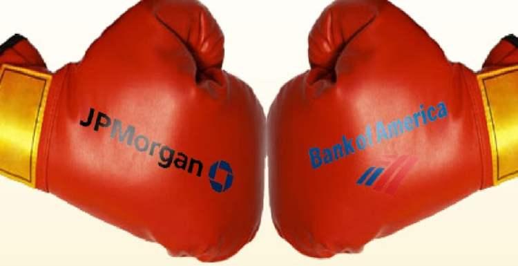 JPMorgan e Bank of America lideram corrida pela supremacia dos bancos blockchain