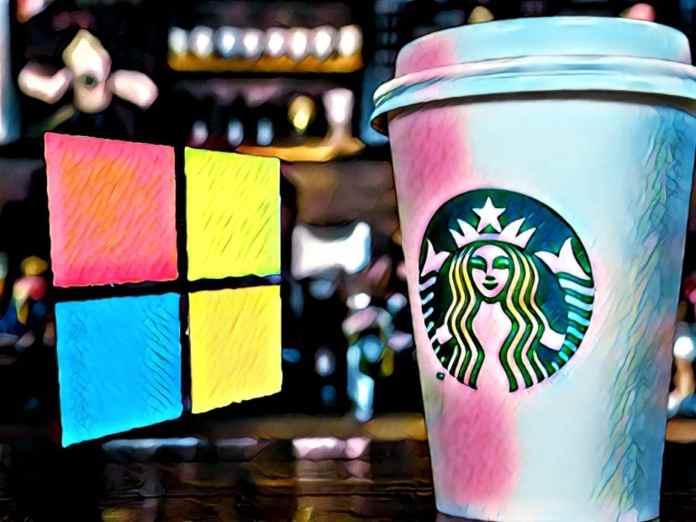 Starbucks faz parceria com a Microsoft para lançar novo serviço