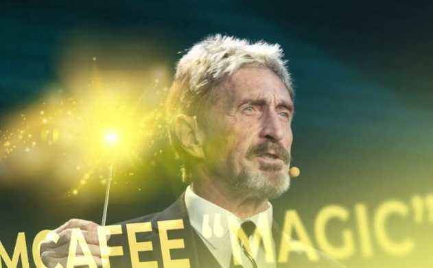 """A nova plataforma de negociação de criptomoedas de John McAfee, """"Magic"""", foi lançada"""