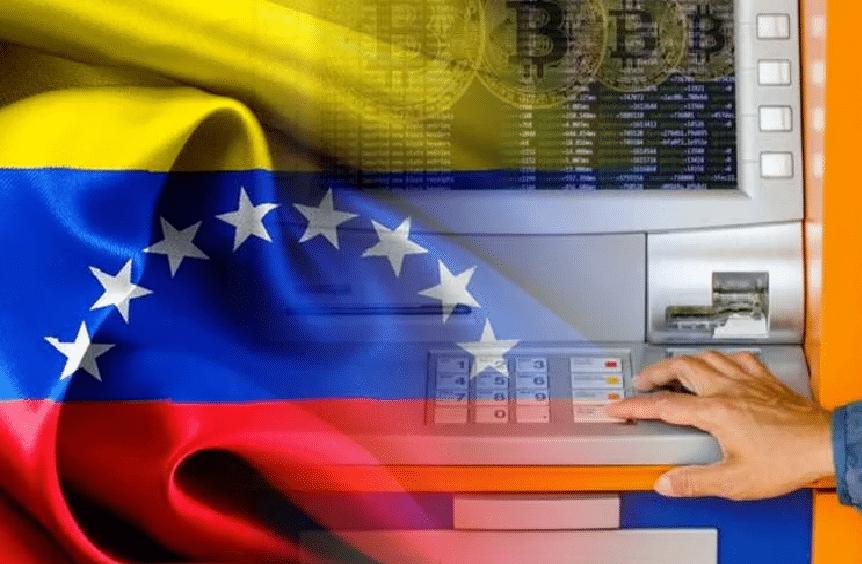 Venezuela consegue seu primeiro caixa eletrônico Bitcoin