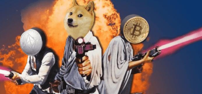 Dogecoin é a terceira criptomoeda mais segura depois de Bitcoin e Ethereum