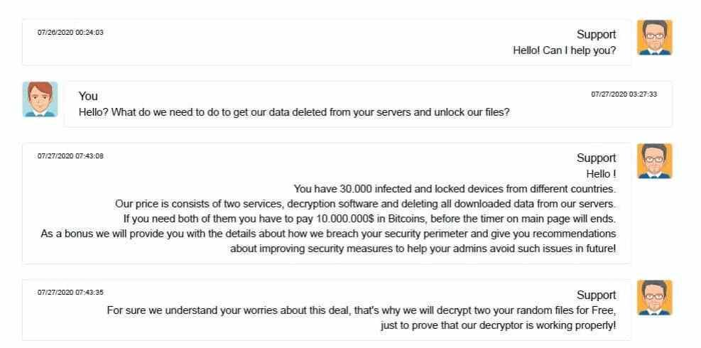 CWT paga US$ 4,5 milhões em Bitcoin a hackers
