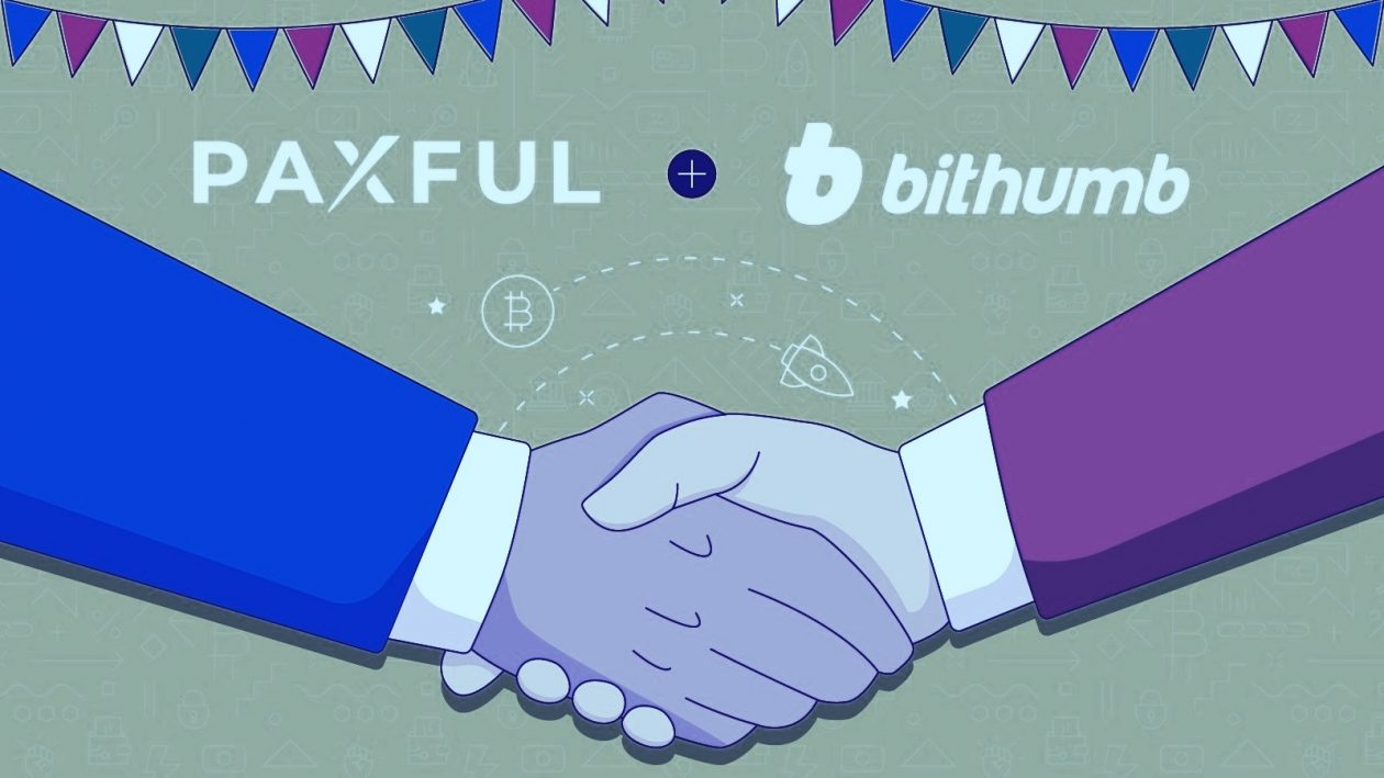 Parceria entre Paxful e Bithumb facilita compra de criptomoedas