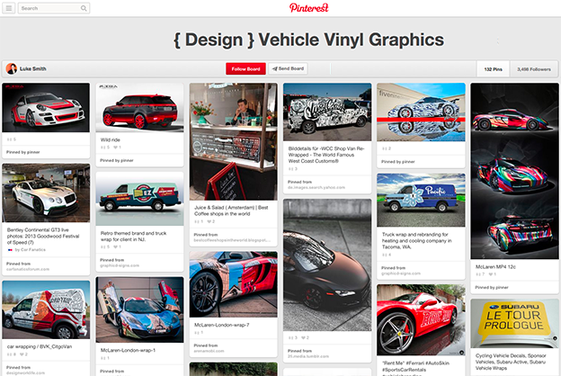 Inspiration for vehicle wraps