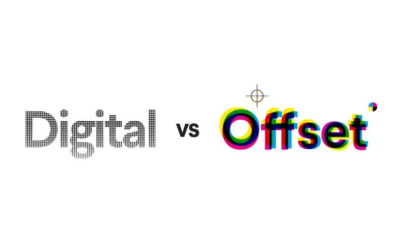 Digital vs. offset printing: choosing the right technique - 99designs