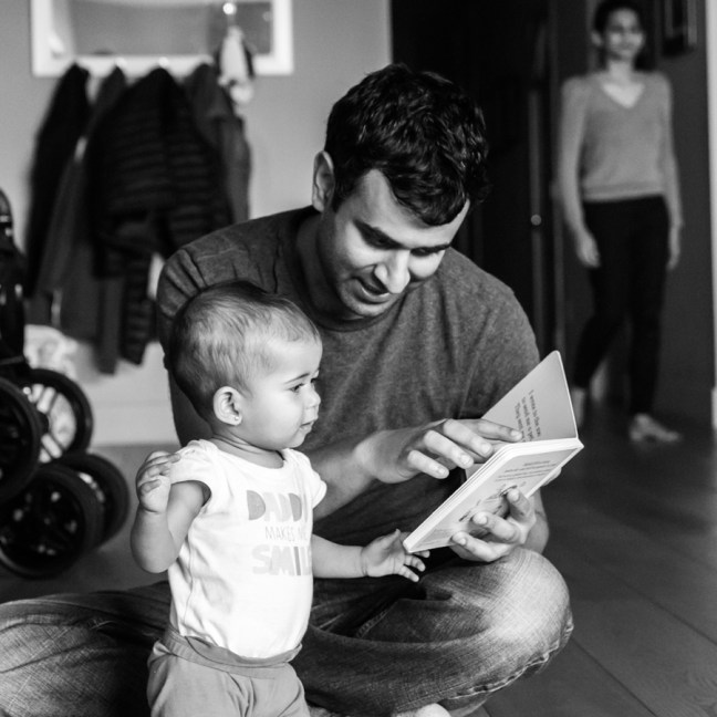 Sumir Meghani, co-founder of Instawork, father of 1.