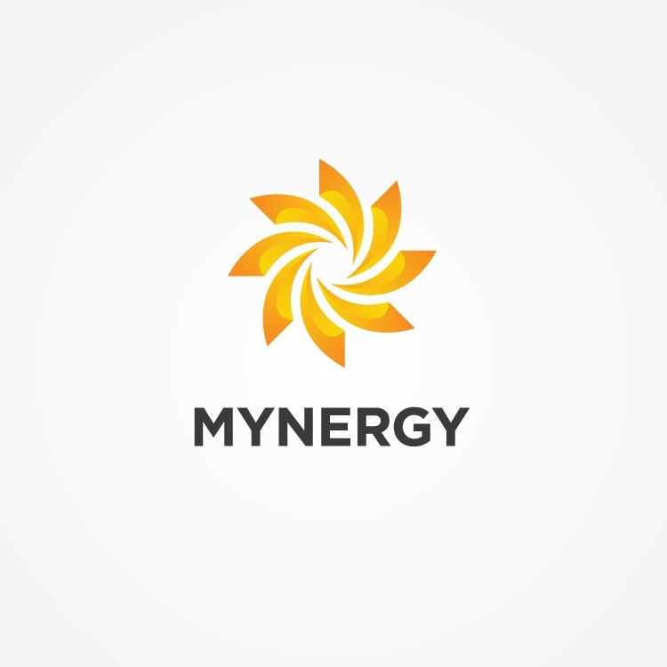 yellow and orange logo