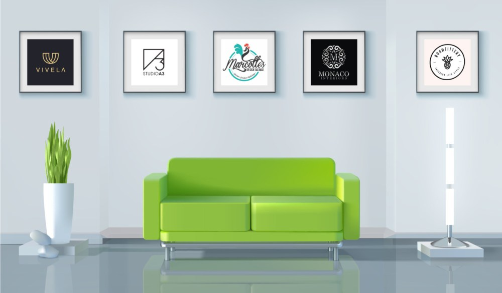 15 interior design and decorator logo ideas for well-furnished success -  99designs