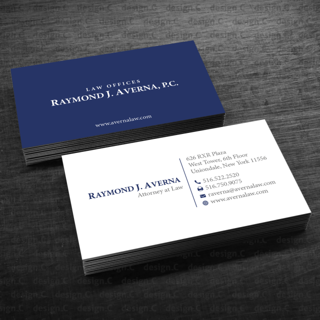 27 lawyer business cards that do design justice - 27designs