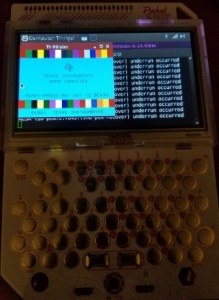 TI99 Boot Screen
