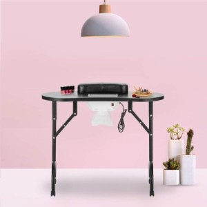 LEIBOU Vented Beauty Manicure Table