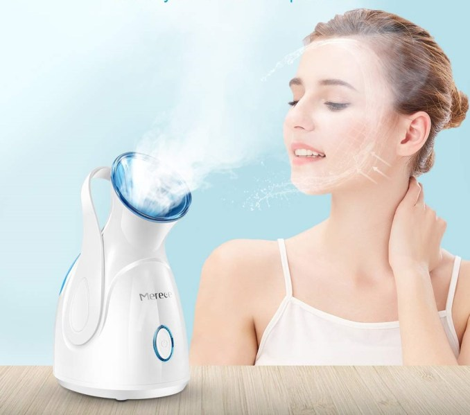 Facial Steamer Top 8 Best Steamers Available Online in 2021. The Mini Steamer is another kind of liner that creates nano-ionic steam.