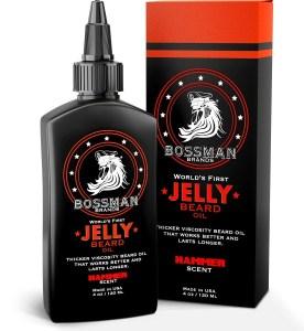 Bossman Beard Oil Thicker consistency