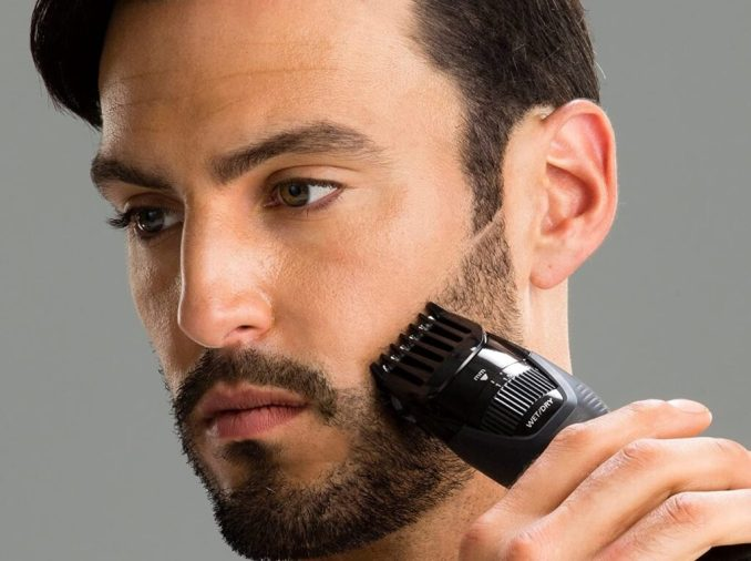 how to trim your beard with a trimmer