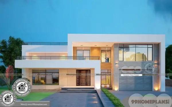 Arabic Villa Design Plans Double Floor Simple And Perfect