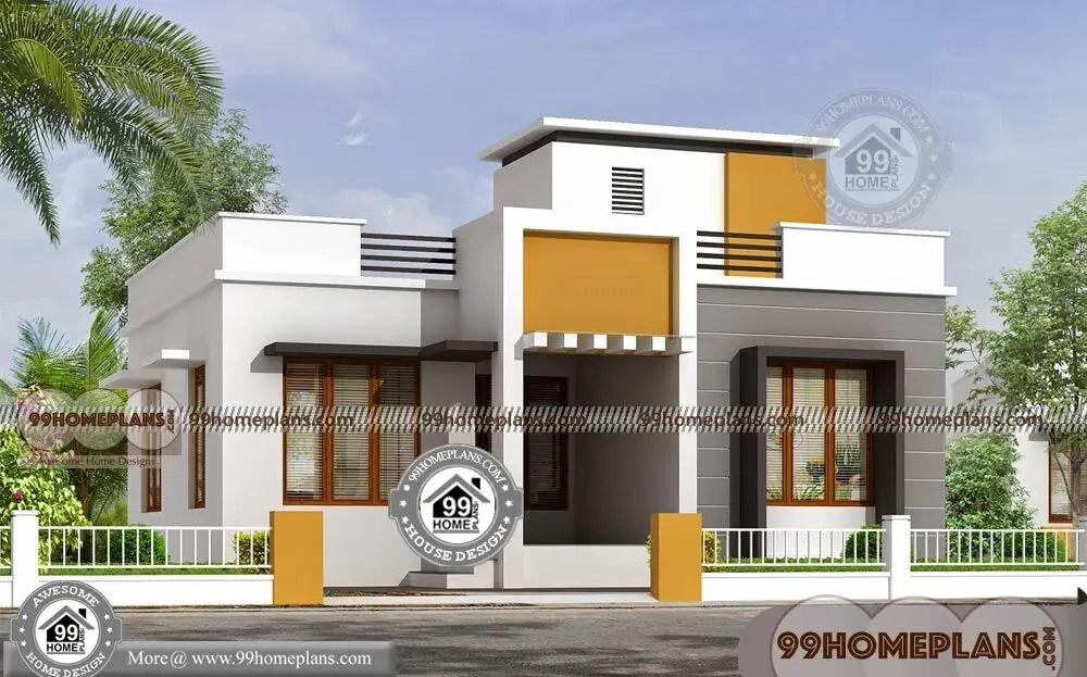 Single Floor House Design & Modern Home Ideas & 3D