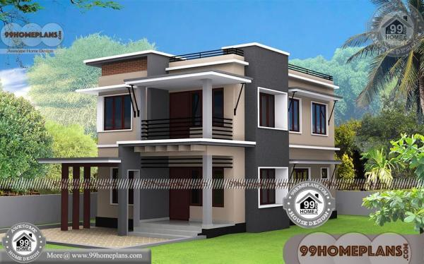 Small Modern House Designs With 3D Elevations