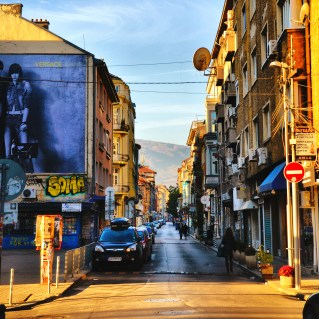 """The beloved street """"Shishman"""" in Sofia. We even have a saying for it: """"Behind the tale of the Horse is Shishman and right there is, where the heart of Sofia is."""""""