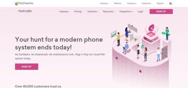 freshcaller telemarketing