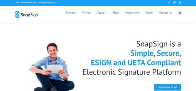 snapsign digital sign software