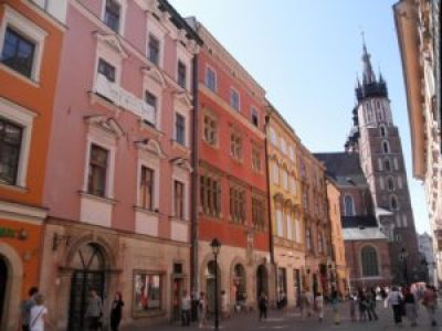 Maisons colorées de Cracovie
