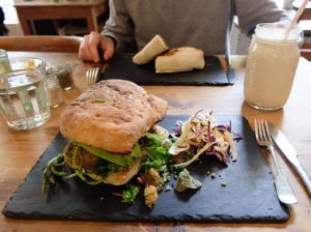 Restaurant végétarien à Bath