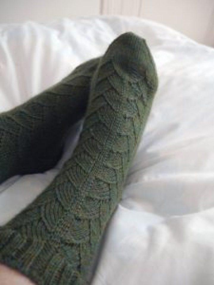 chaussettes My cup of tea en tricot
