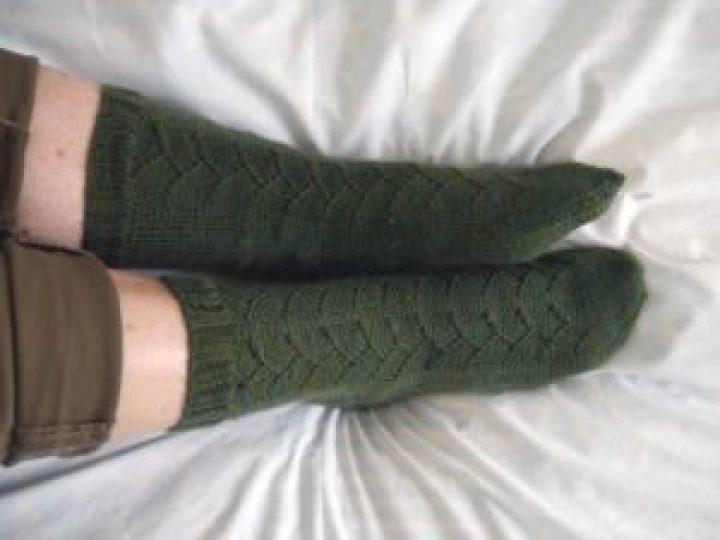 chaussettes en laine sock wool de wendy