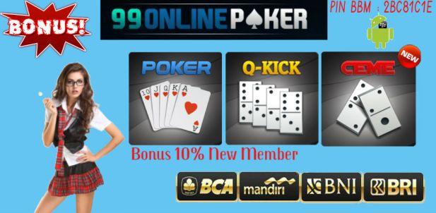 Awal Judi Poker Online dan Domino Online Indonesia