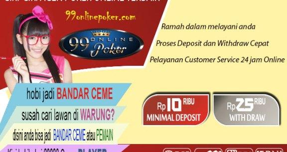 Ciri – Ciri Judi Poker Online Terpercaya