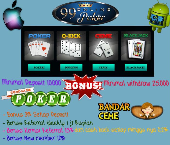 Cara Bermain Poker Online Bonus Deposit