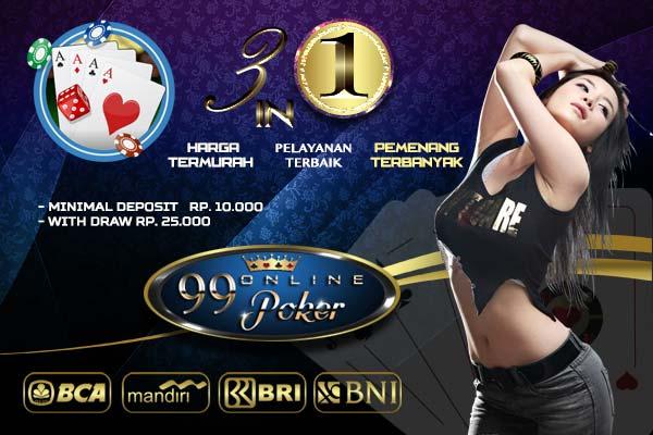 Judi Online Tepercaya Dewa Poker 99