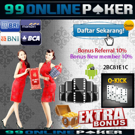Permainan 99 Domino Poker Terbaik Masa Kini