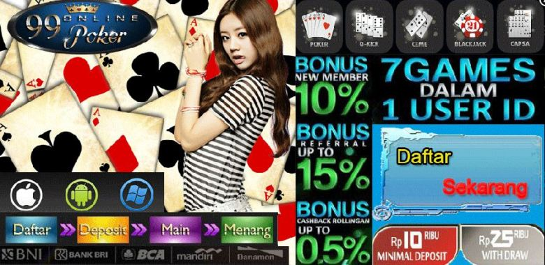 Poker Online Uang Asli Bank Bca