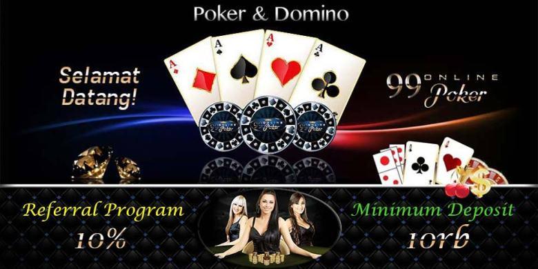 Trik main kartu Domino Online