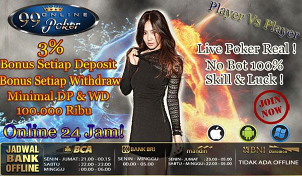 Promo Bonus Domino Poker Indonesia