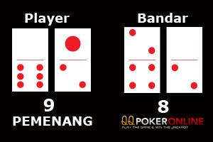 player menang
