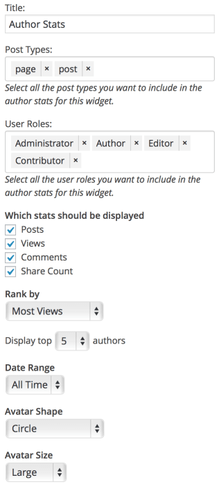 author-stats-widget-settings